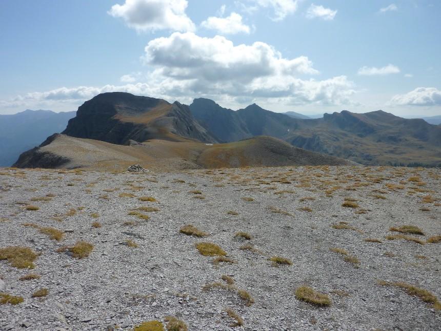 Lac d'Allos - Mont Pelat P1000024