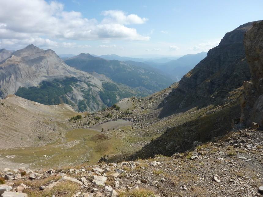 Lac d'Allos - Mont Pelat P1000026