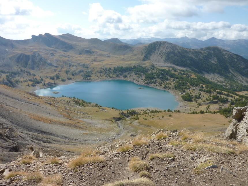 Lac d'Allos - Mont Pelat P1000027