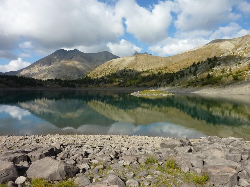 Lac d'Allos - Mont Pelat P1000029