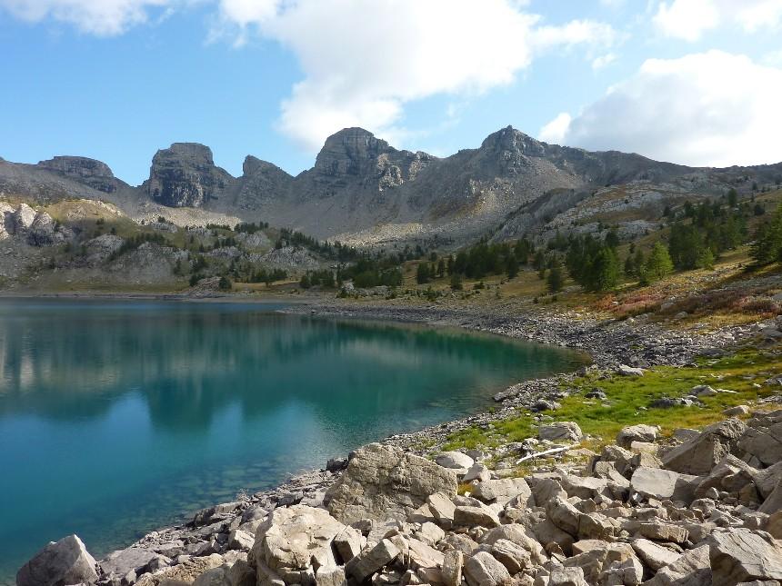 Lac d'Allos - Mont Pelat P1000110