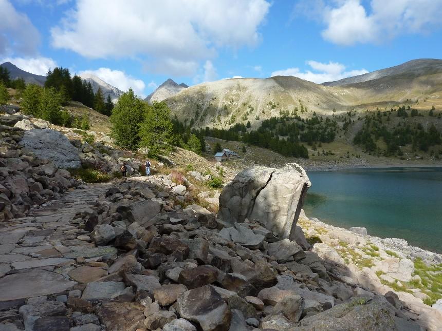 Lac d'Allos - Mont Pelat P1000111