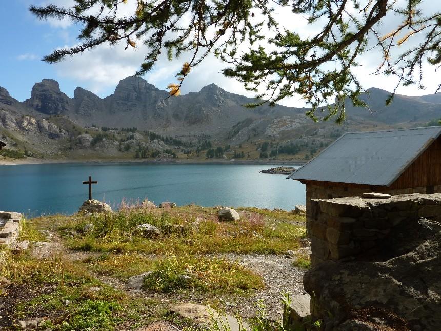 Lac d'Allos - Mont Pelat P1000112