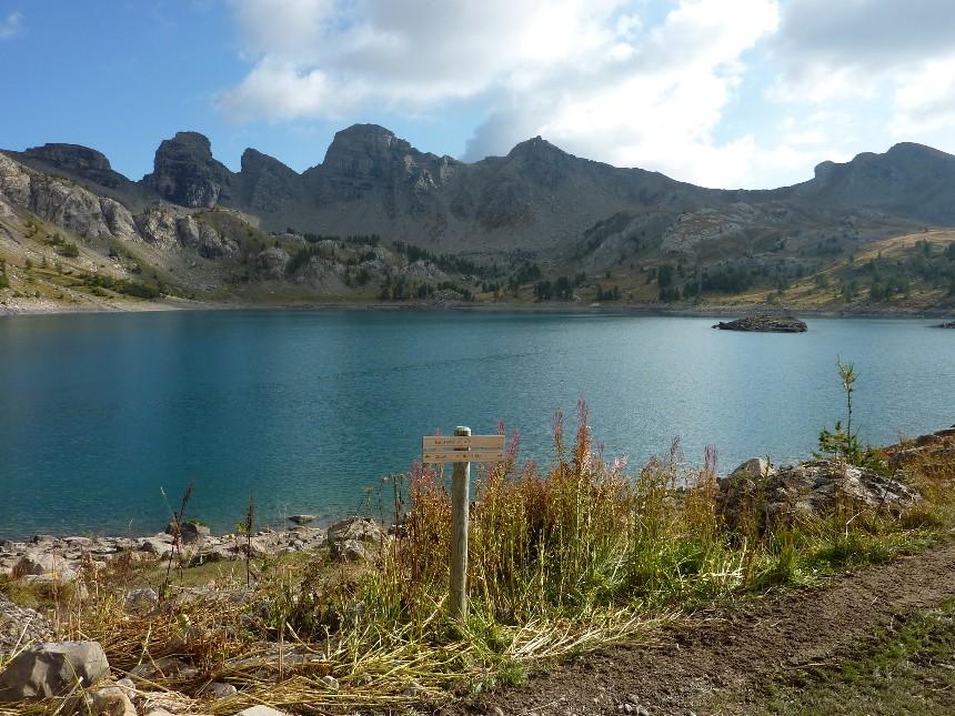 Lac d'Allos - Mont Pelat P1000113