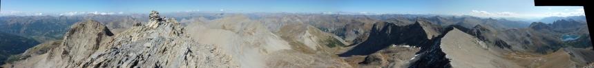 Lac d'Allos - Mont Pelat Pano_m10