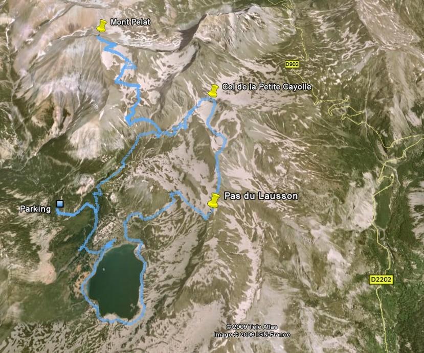 Lac d'Allos - Mont Pelat Parcou10