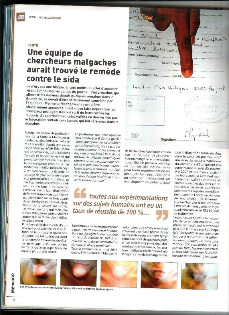 Les copies d'articles sur le remède Articl11