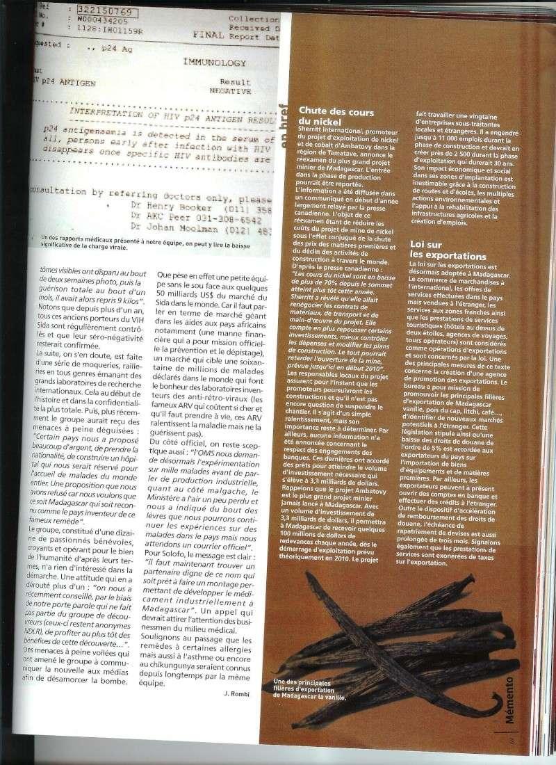 Les copies d'articles sur le remède Articl12