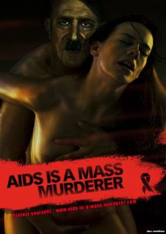 Prèvention SIDA, Hitler dans une campagne En-a6-10
