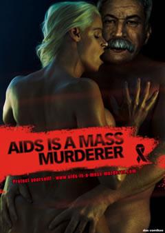 Prèvention SIDA, Hitler dans une campagne En-a6-12