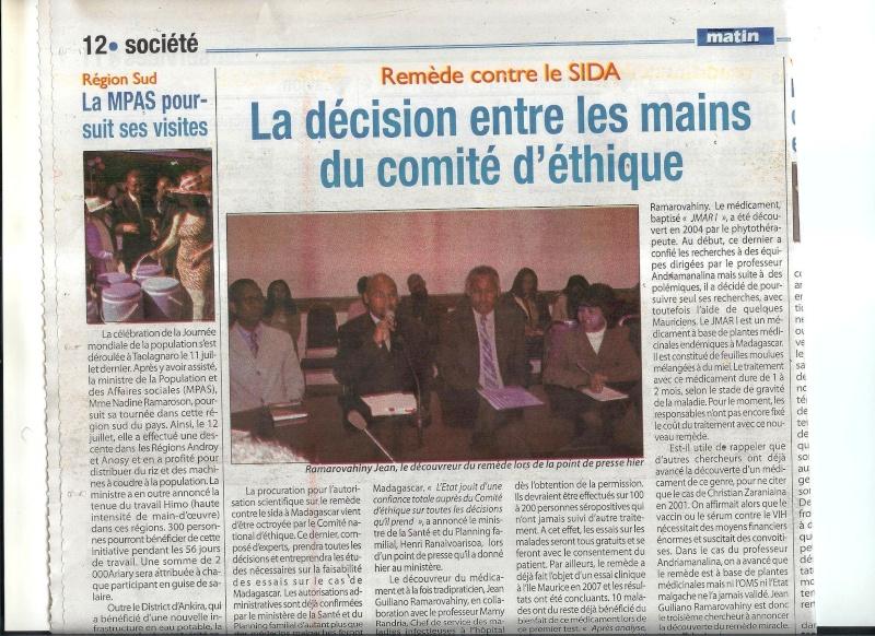 Les copies d'articles sur le remède Madama10