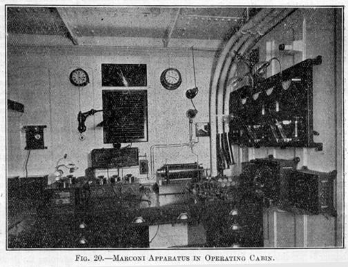 la cabine radio Elec1110