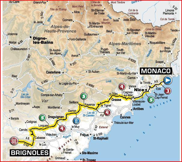 Tour de France 2009 Monaco10