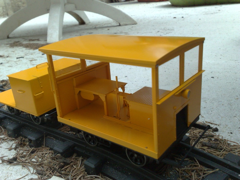 My first speeder (draisine), guess it's yellow 01082015