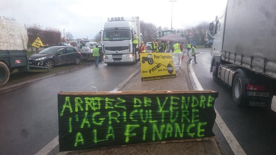 """Appel aux agriculteurs du 80 , operation """"mettez du Jaune dans le Jaune """" Cr310"""