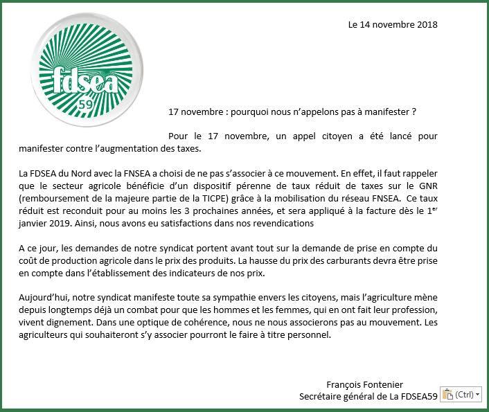 Blocage de la France le 17 Novembre contre le prix des carburants - Page 4 Frsea10