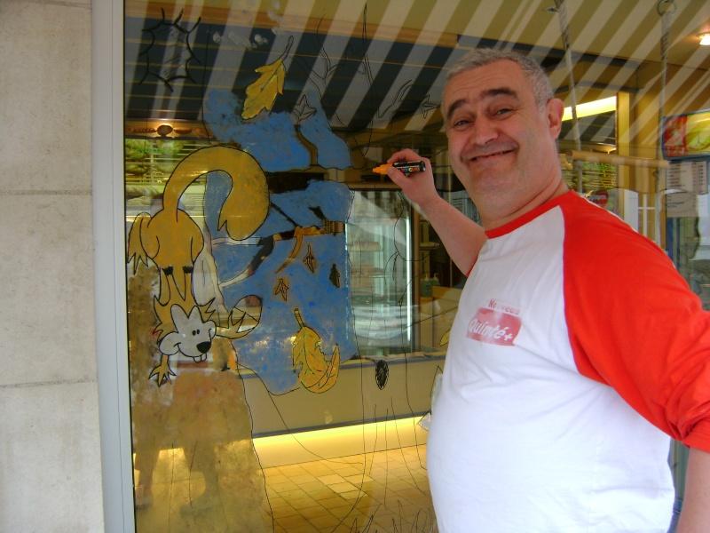 décoration de la vitrine pour l'autonne Dsc00519