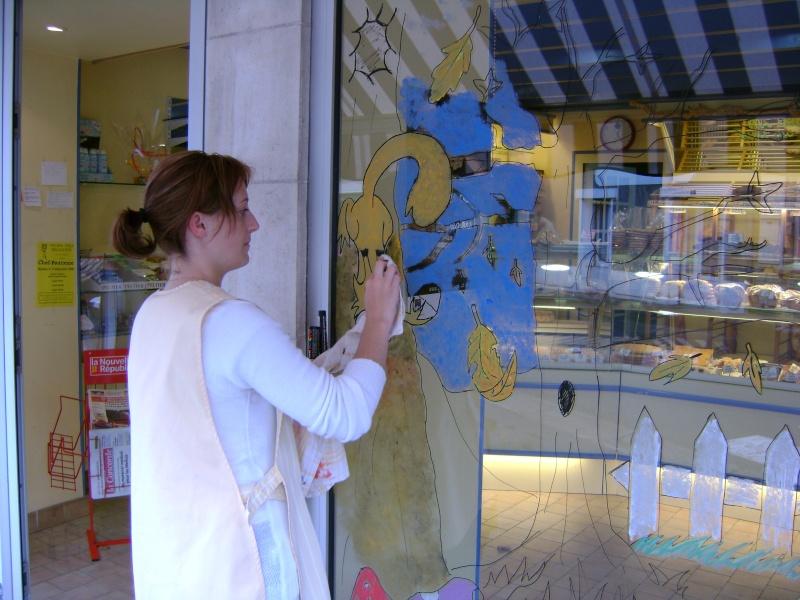 décoration de la vitrine pour l'autonne Dsc00520