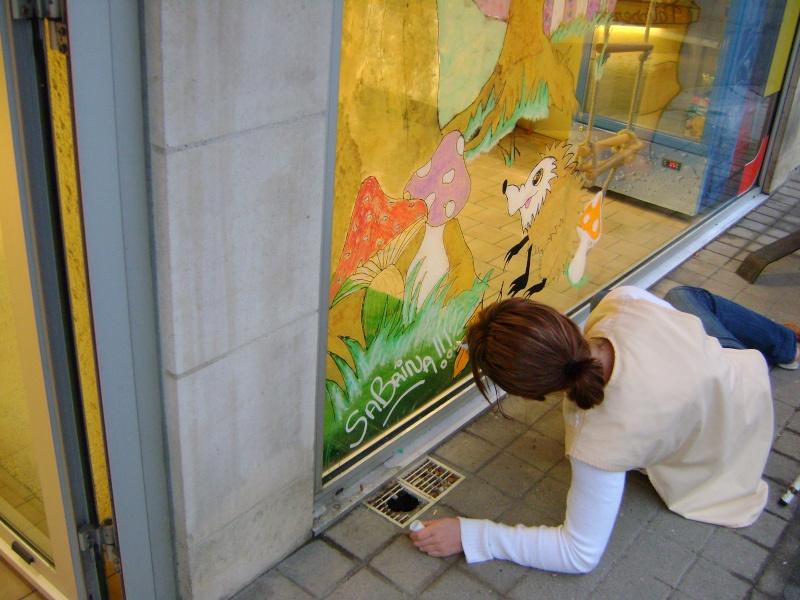 décoration de la vitrine pour l'autonne Dsc00521