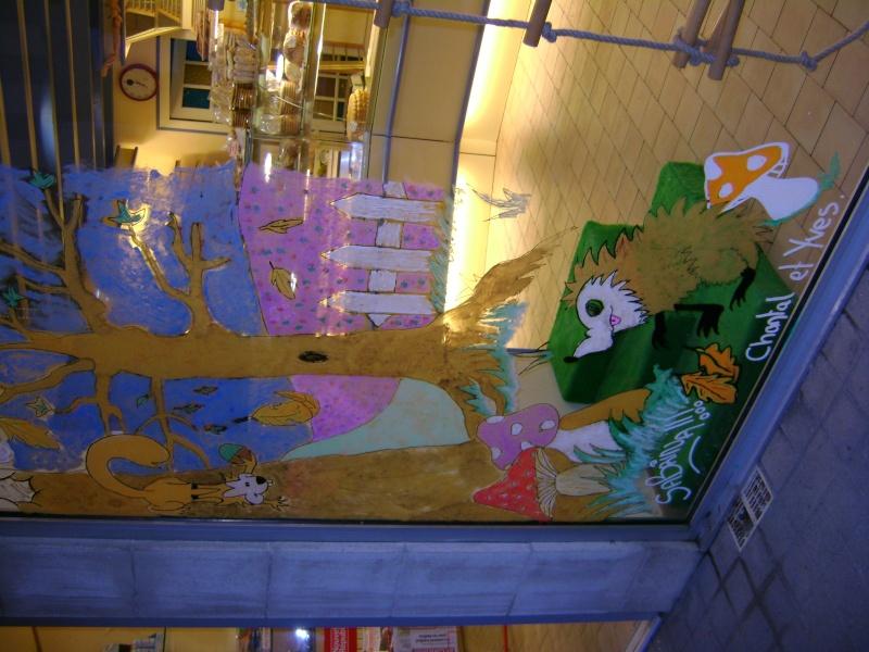 décoration de la vitrine pour l'autonne Dsc00522