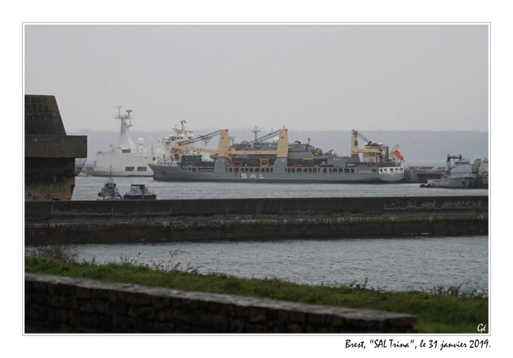 [Vie des ports] BREST Ports et rade - Volume 001 - Page 38 20190118