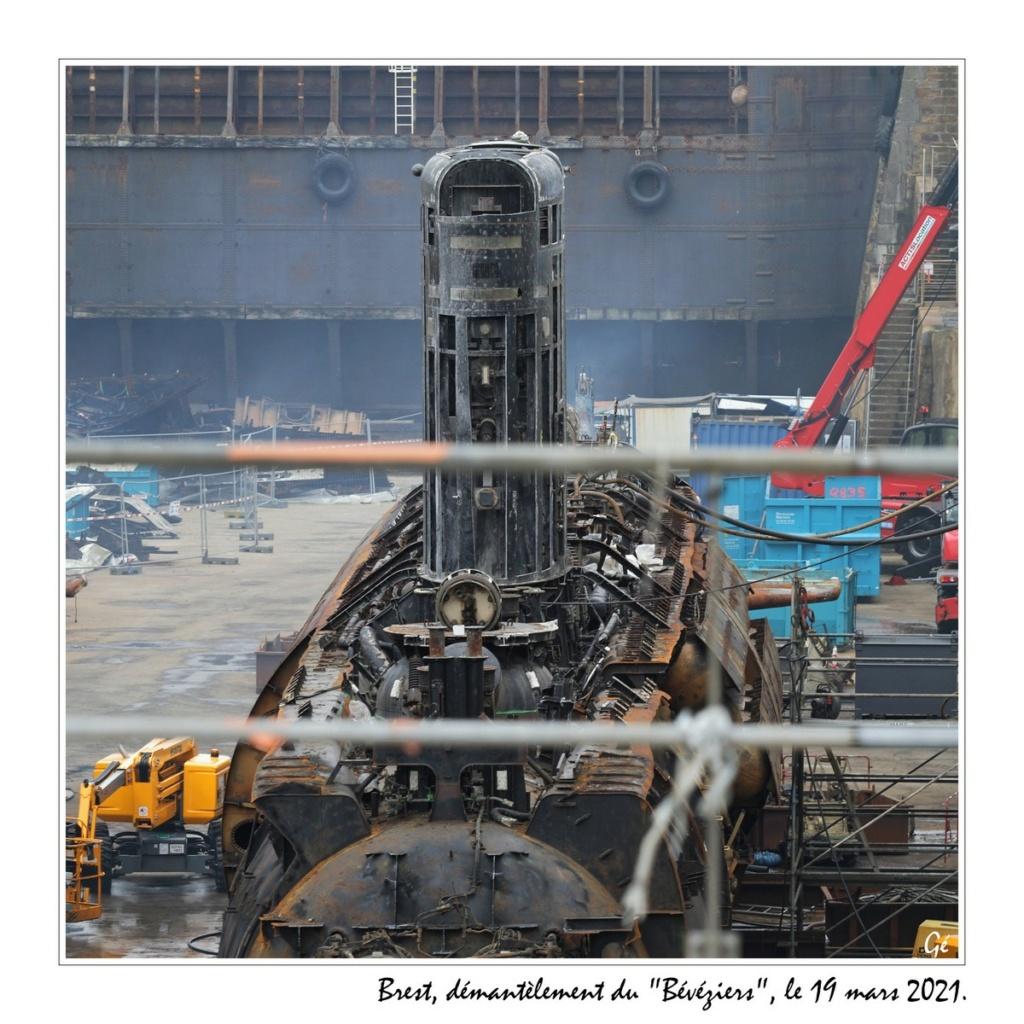 [Autre sujet Marine Nationale] Démantèlement, déconstruction des navires - TOME 2 - Page 15 20210312