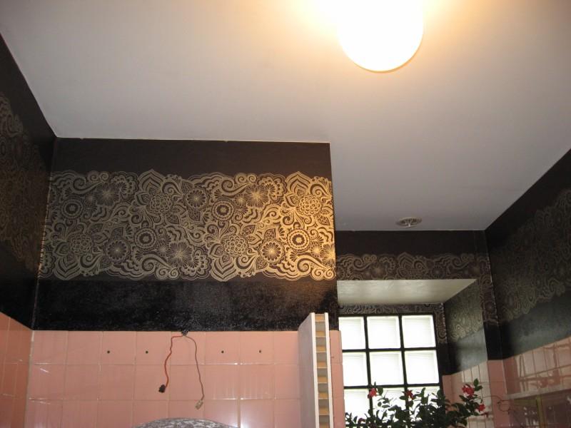 COULEUR DANS LA SALLE DE BAIN murs noirs +suite mais pas fin Murs_037