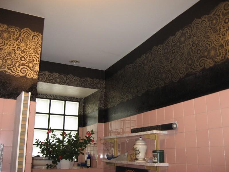 COULEUR DANS LA SALLE DE BAIN murs noirs +suite mais pas fin Murs_038