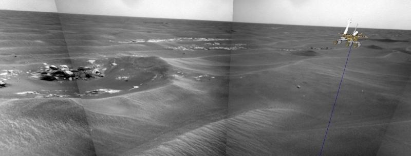 Opportunity va explorer le cratère Endeavour - Page 3 Image213