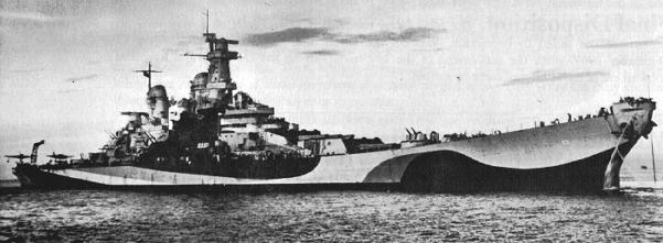 USS Missouri 1943 (1/700 Fujimi) 01634710