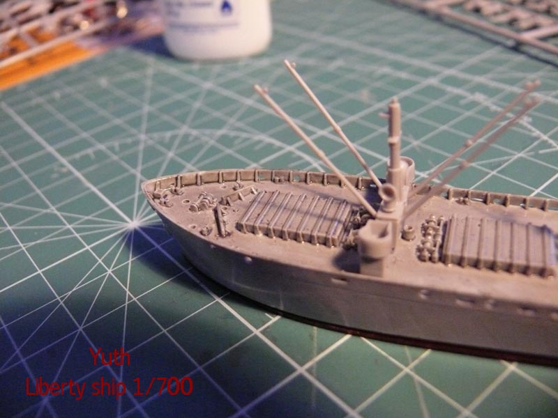 SS Jeremiah O' Brien 1/700 Trumpeter 1011