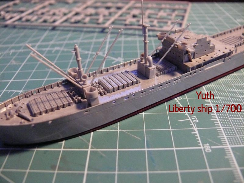 SS Jeremiah O' Brien 1/700 Trumpeter 1111