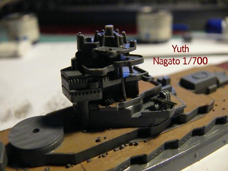 IJN NAGATO 1/700 aoshima 1113