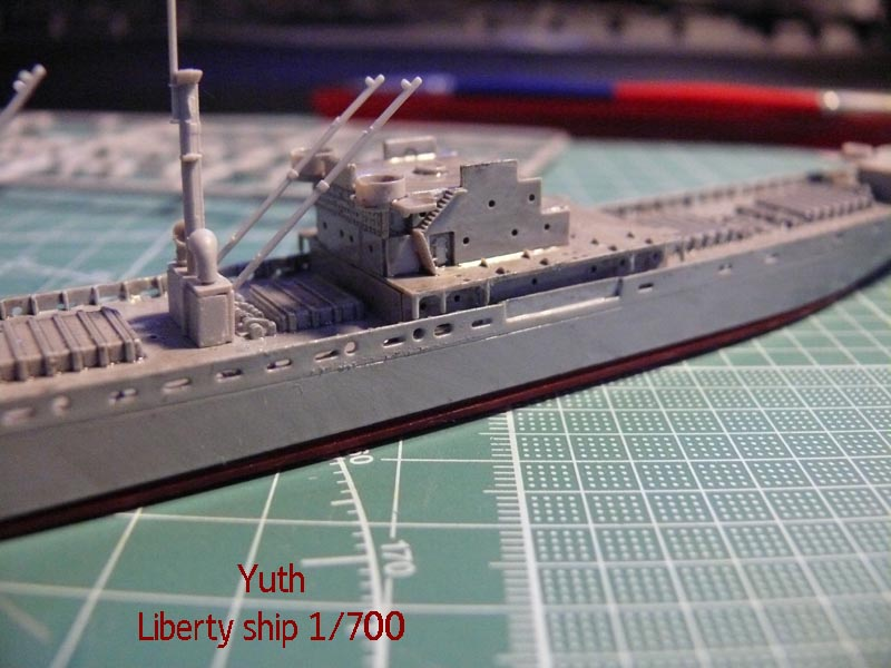 SS Jeremiah O' Brien 1/700 Trumpeter 1211