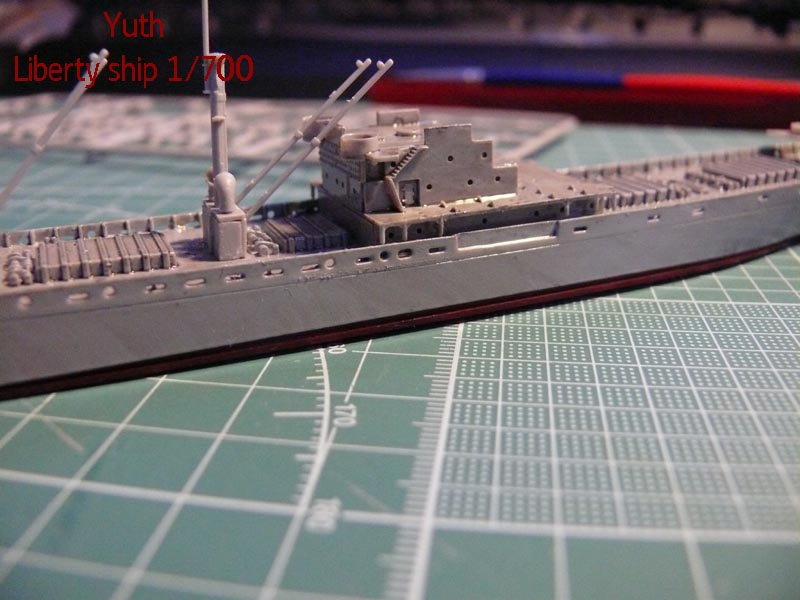 SS Jeremiah O' Brien 1/700 Trumpeter 1311