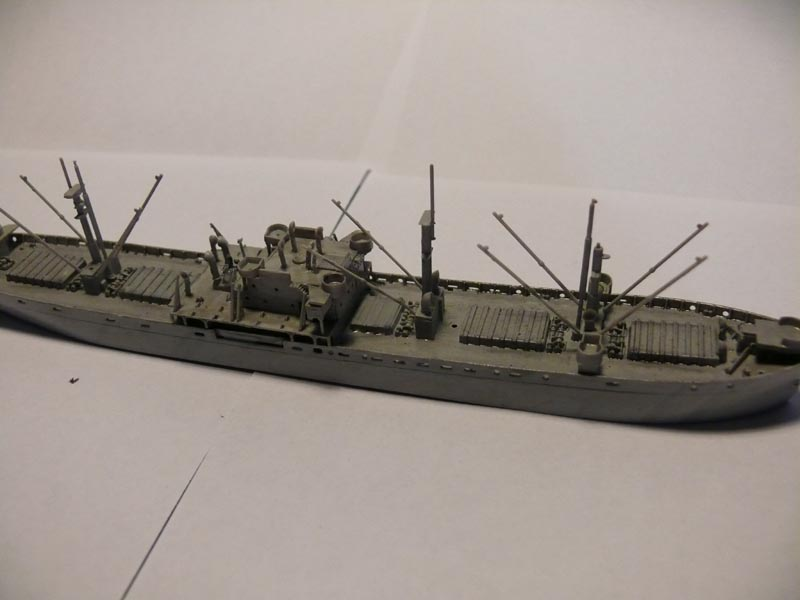 SS Jeremiah O' Brien 1/700 Trumpeter 1412