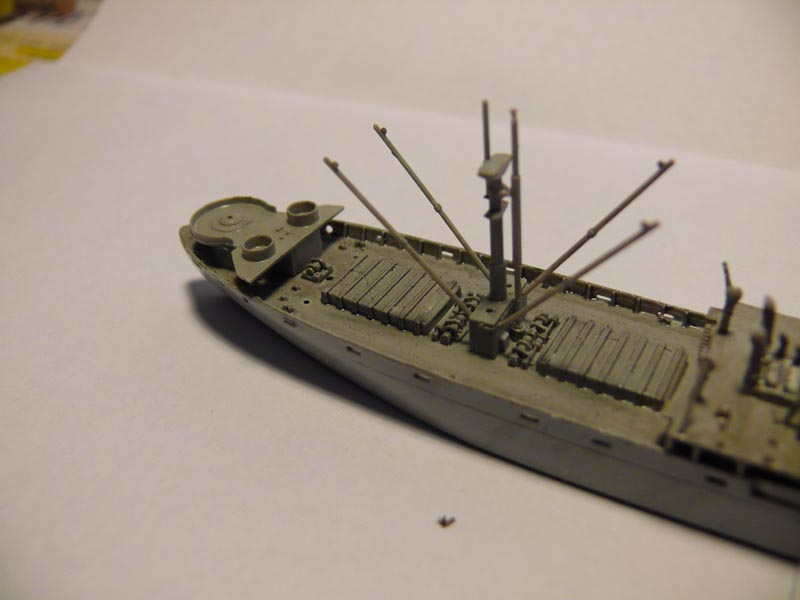 SS Jeremiah O' Brien 1/700 Trumpeter 1611