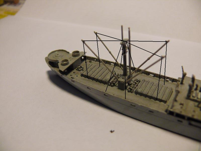 SS Jeremiah O' Brien 1/700 Trumpeter - Page 2 161110