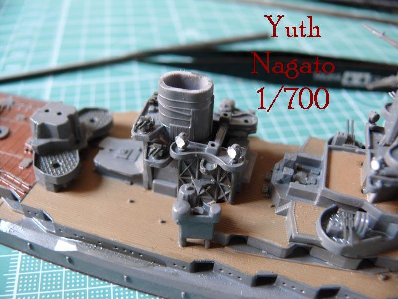 IJN NAGATO 1/700 aoshima 1710