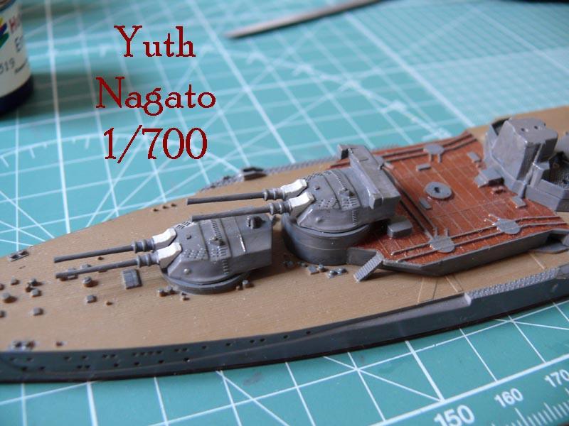 IJN NAGATO 1/700 aoshima 1910