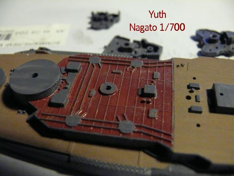 IJN NAGATO 1/700 aoshima 613