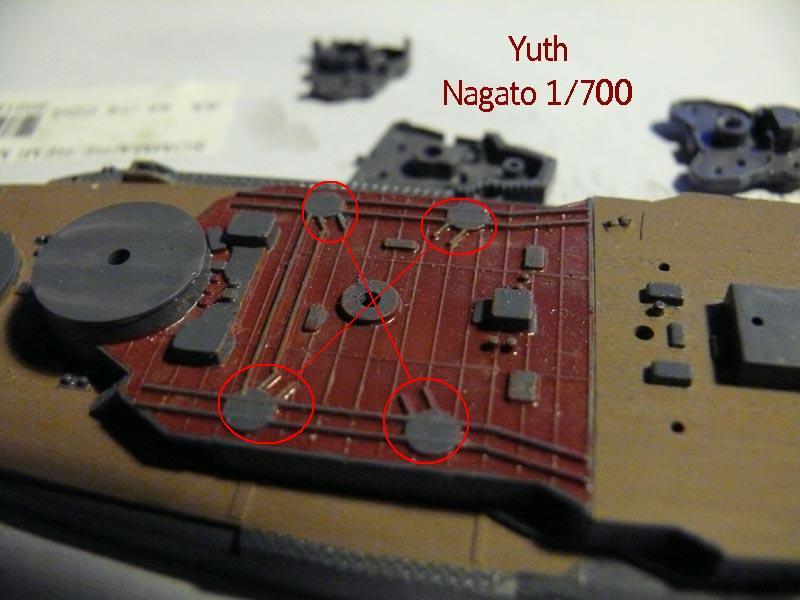 IJN NAGATO 1/700 aoshima 61310
