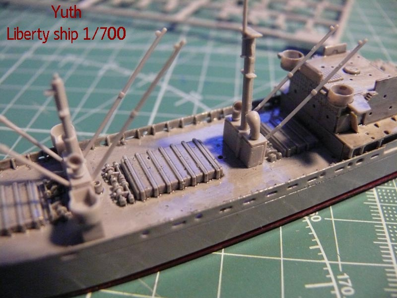SS Jeremiah O' Brien 1/700 Trumpeter 711