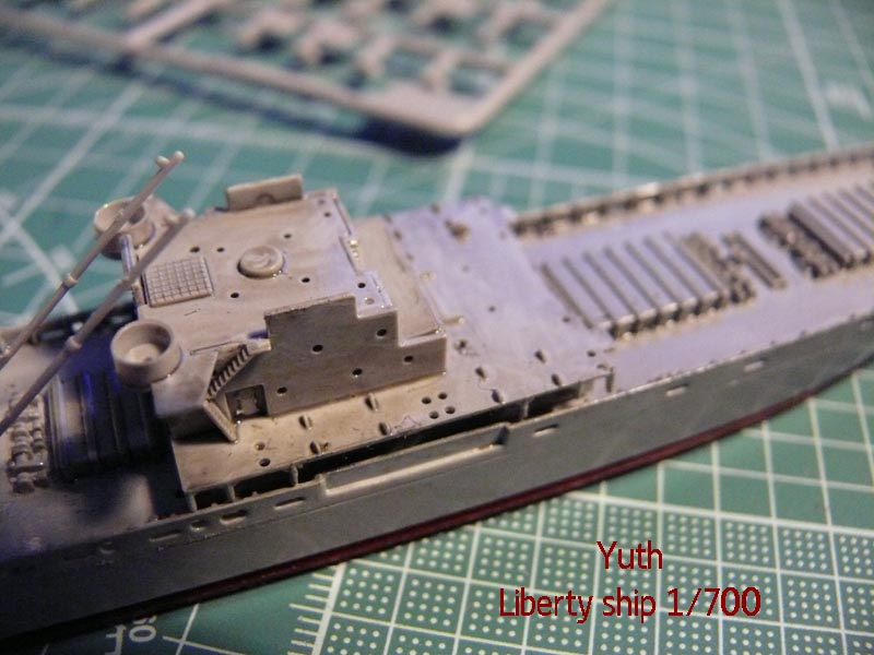 SS Jeremiah O' Brien 1/700 Trumpeter 811