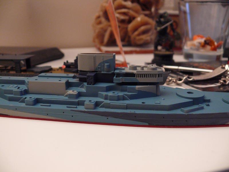 USS Missouri 1943 1/700 Fujimi Missou33