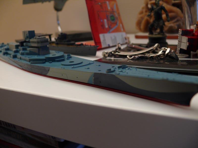 USS Missouri 1943 1/700 Fujimi Missou35