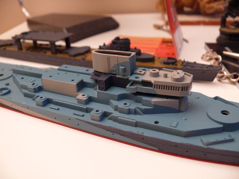 USS Missouri 1943 1/700 Fujimi Missou36