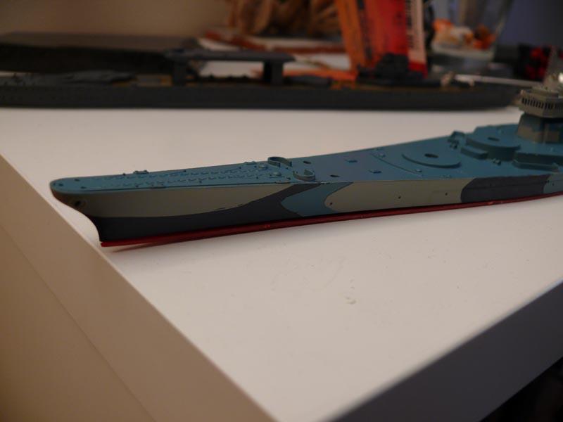 USS Missouri 1943 1/700 Fujimi Missou37