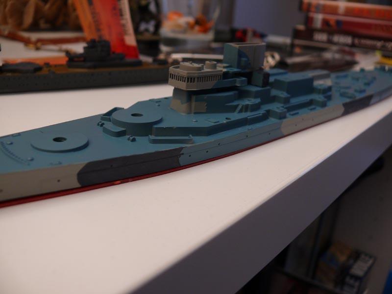 USS Missouri 1943 1/700 Fujimi Missou38