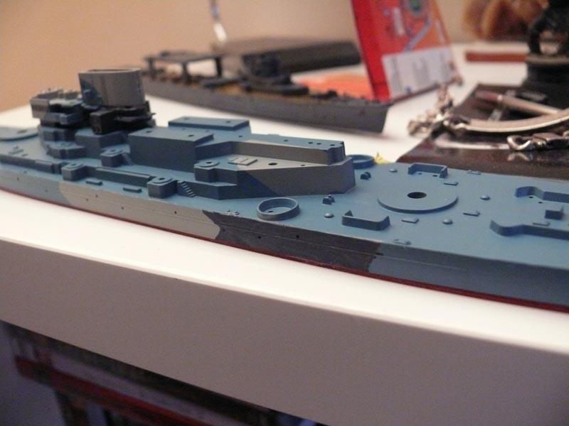 USS Missouri 1943 1/700 Fujimi Missou39